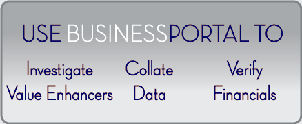 Use BusinessPortal-Global to prepare businesses for sale