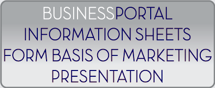 Use BusinessPortal-Global as the basis of the marketing presentations